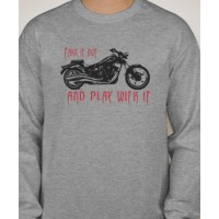 Play With It, Yamaha Raider Motorcycle  Long Sleeved T-Shirt